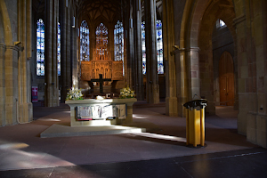 Postkartenmotiv Altar und Chorraum