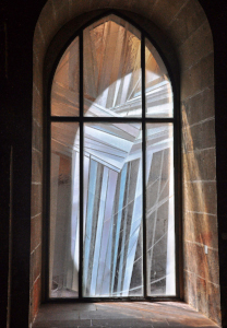 Westfassadenfenster